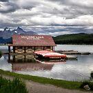 Maligne Lake by Kathy Weaver