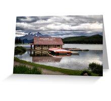 Maligne Lake Greeting Card