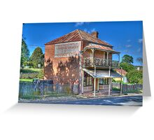 Northey's General Store, Hill End, NSW  Greeting Card