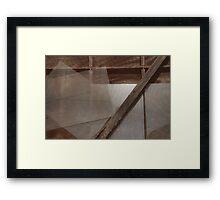 Meshwork Framed Print