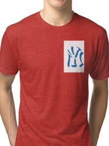 New York Yankees Shadow  Tri-blend T-Shirt