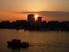 Urban Sunset by Lucinda Walter