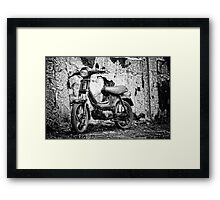 Old Derbi Framed Print