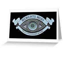 Memento Mori Greeting Card
