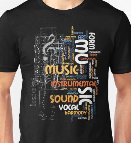 mu sic clef Unisex T-Shirt