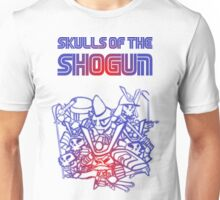 80's Arcade Skulls of the Shogun Unisex T-Shirt