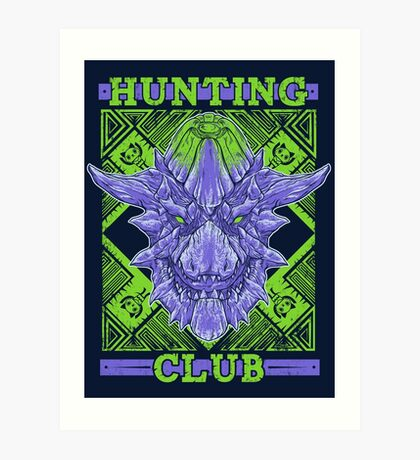 Hunting Club: Brachydios Art Print