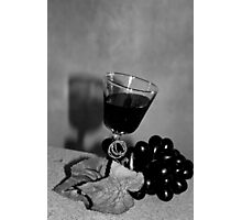 Wild Grapes and Brandy Wine Photographic Print