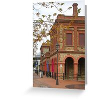 old police station.....2......... Greeting Card