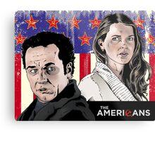 The Americans Metal Print