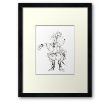 Cleyra Maiden Framed Print