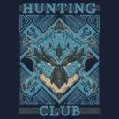 Hunting Club: Azure Rathalos by MeleeNinja
