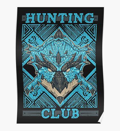 Hunting Club: Azure Rathalos Poster