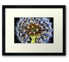 Colour fountain Framed Print
