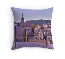Schwäbisch Hall. Germany. Throw Pillow