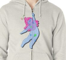 Jelly Dancing  Zipped Hoodie