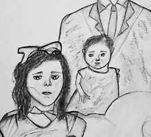 Family Sketch 01 by Christina Rodriguez