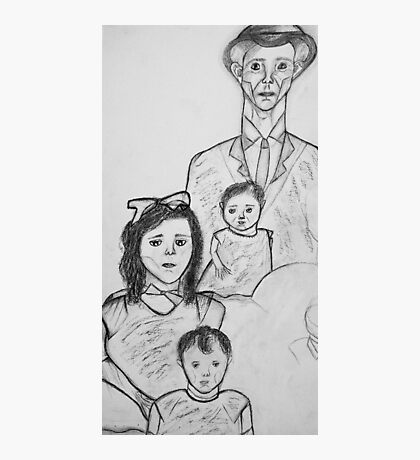Family Sketch 01 Photographic Print