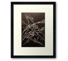 'Detention' series 1 - 3 Framed Print
