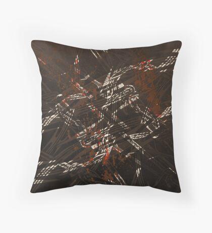 'Detention' series 3 - 3 Throw Pillow