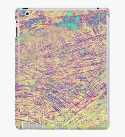 abstract wooden background iPad Case/Skin