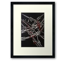 'Detention' series 2 - 3 Framed Print