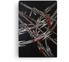 'Detention' series 2 - 3 Canvas Print
