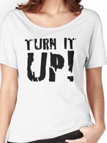 LIGHT - TURN IT UP Women's Relaxed Fit T-Shirt