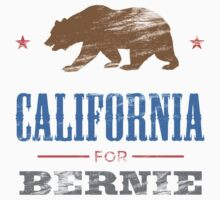 California For Bernie Bear Kids Clothes