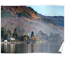 A Villiage in the Highlands of Scotland Poster