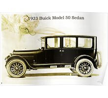1923 Buick Poster