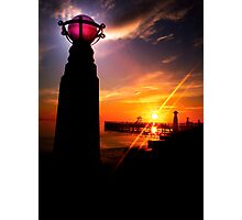 Sunrise over Geelong Photographic Print