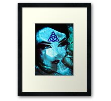 Ice Mage Framed Print