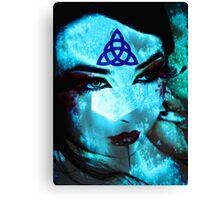 Ice Mage Canvas Print