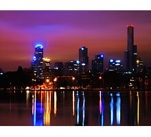 from albert park lake Photographic Print