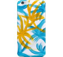 Palm Island Abstract Art Painting iPhone Case/Skin