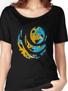 Palm Island Abstract Art Women's Relaxed Fit T-Shirt