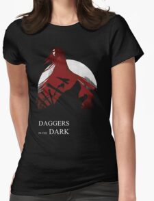 Daggers in the Dark Womens Fitted T-Shirt