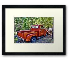 '56 Ford Truck Framed Print