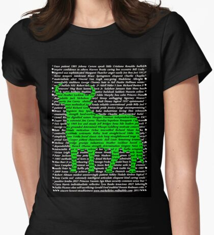 """The Year Of The Ox / Oxen / Buffalo / Cow"" Clothing Womens Fitted T-Shirt"