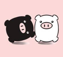 TWINPIGS 1 by peter chebatte