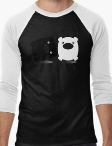 TWINPIGS 1 Men's Baseball ¾ T-Shirt