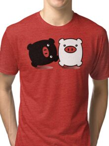 TWINPIGS 1 Tri-blend T-Shirt