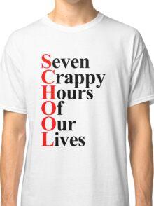School acrostic Classic T-Shirt