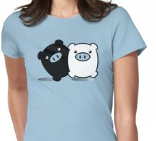 TWINPIGS 2 Womens Fitted T-Shirt