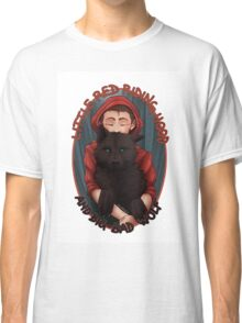Little Red and BigBad Wolf Classic T-Shirt