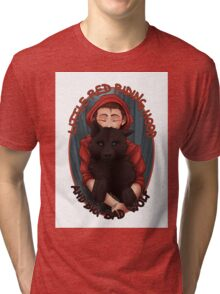 Little Red and BigBad Wolf Tri-blend T-Shirt