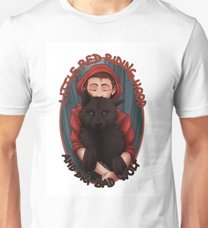 Little Red and BigBad Wolf Unisex T-Shirt