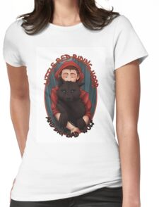 Little Red and BigBad Wolf Womens Fitted T-Shirt
