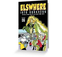 Into Dorkness Cover From Elsewhere Greeting Card